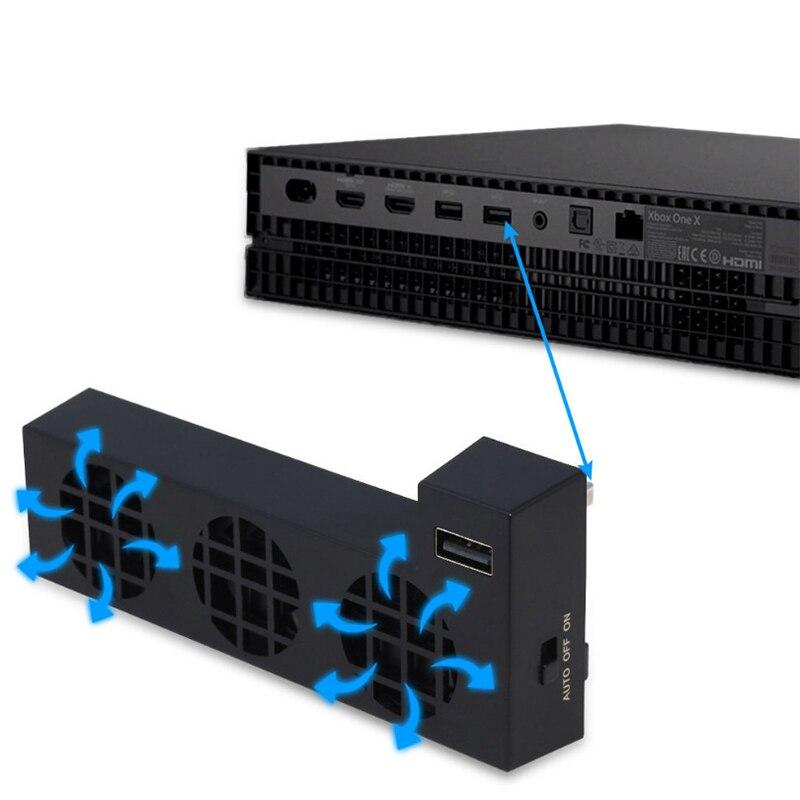 USB-вентилятор охлаждения 3C YZ подходит для консоли Xbox One X, система охлаждения подходит для Xbox One X с 3 охлаждающими вентиляторами