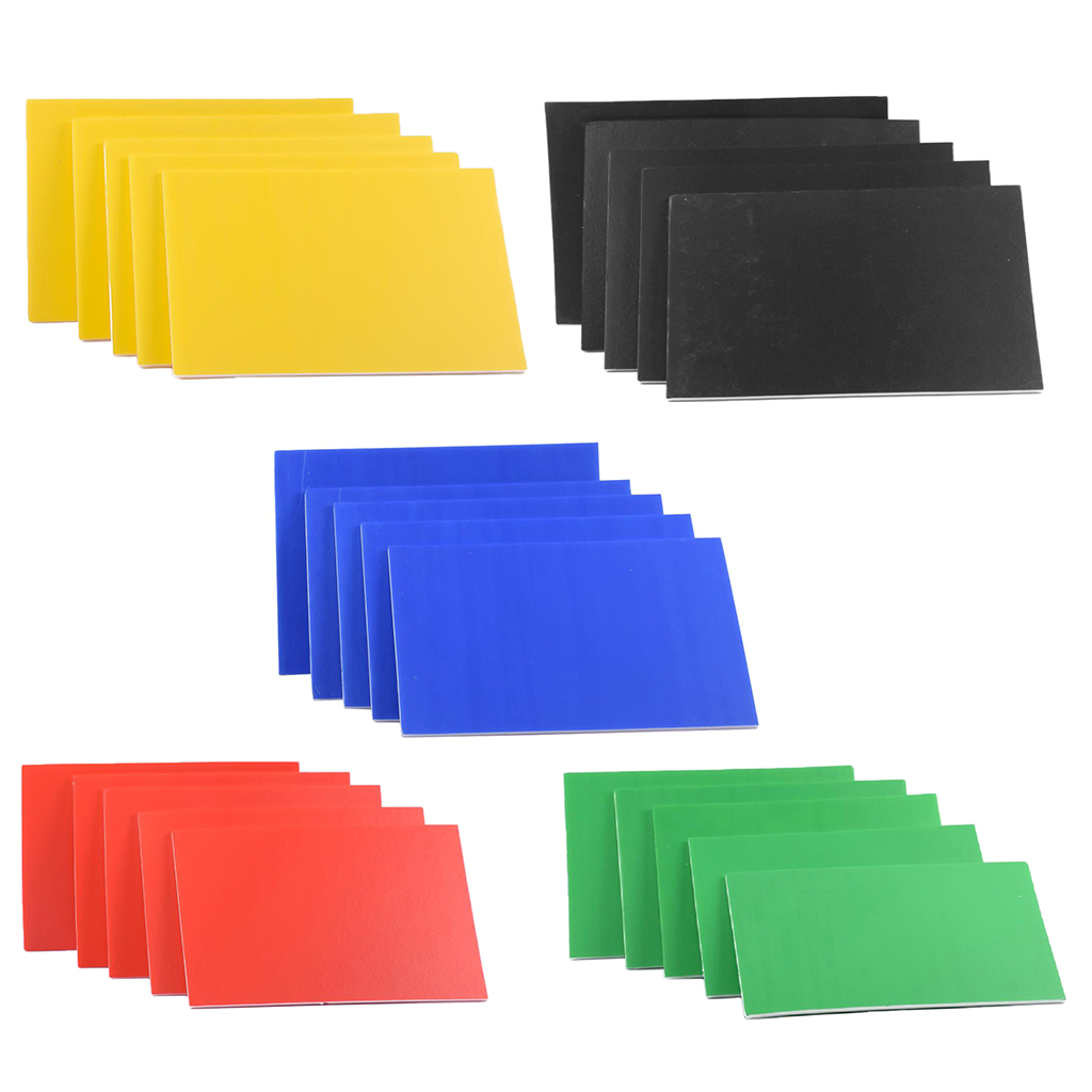 5 Pieces KT Board Foamed PVC Sheets Building Scenery Model DIY Making Accessories 300x200x5mm