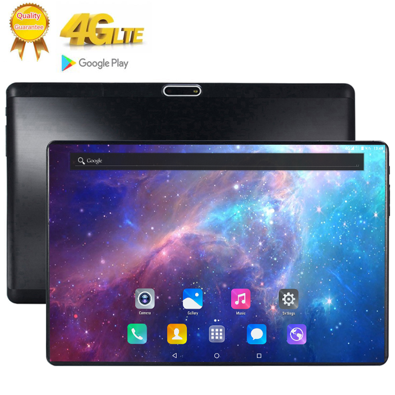 2020 Tablet Android 9.0 10 Core  3G 4G LTE 1920 1200 IPS Dual SIM Card Ips Tablet 2.5D Tempered Glass 10.1 Inch 128GB
