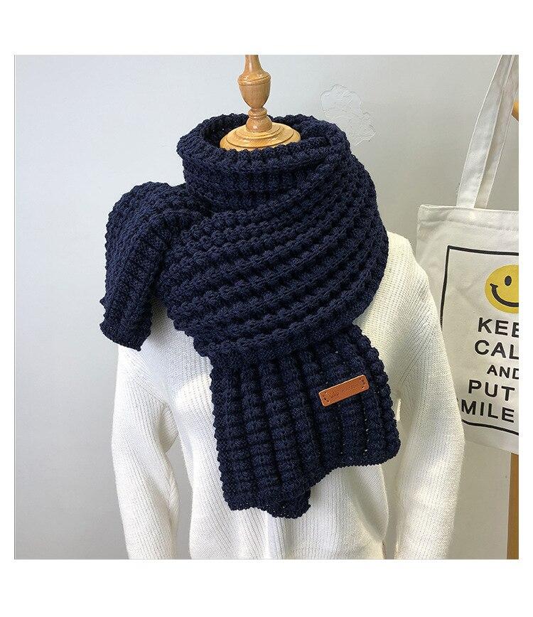 écharpe d'hiver mode femmes
