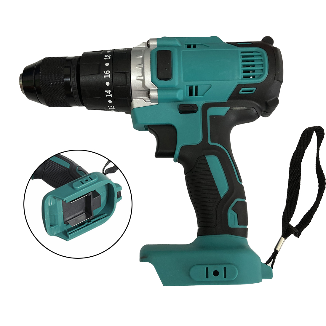 2020 Hot Sale Cordless Brushless Impact Drill For Makita 18 21V Li ion Battery No Batteries Brand New And High Quality|Electric Wrenches| |  - title=