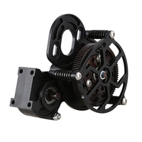 Complete Center Gearbox Transmission Box with Gear for Axial SCX10 RC Crawler Car Center Gearbox
