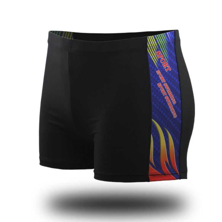 Outer Code New Style MEN'S Swimming Trunks Multi-color Pattern Slim Fit Boxer Comfortable Beach Swimming 3XL Shorts