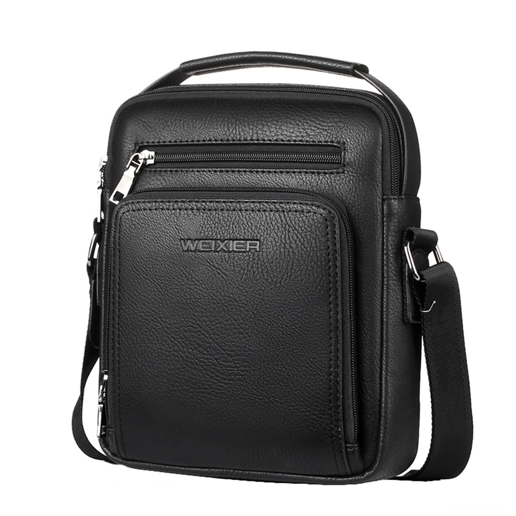 Men Casual Leather Crossbody Bags Men Handbag Top Quality Male Casual Man Handbags Bag Shoulder Bags Briefcases Business Office