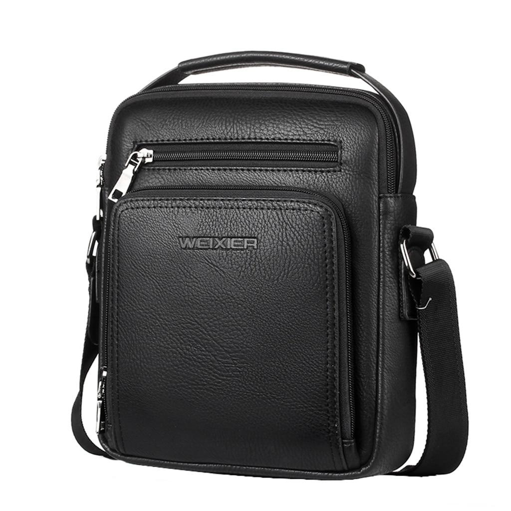 Men Casual Leather Crossbody Bags Men Handbag Top Quality Male Casual Man Handbags Bag Shoulder Bags Briefcases Business Office