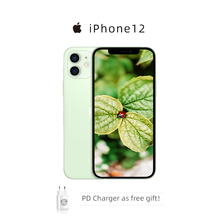 "Unlocked Used Apple iPhone 12 Mini / iPhone 12 5G Smartphone 5.4""/6.1'' Super Retina XDR Display A14 Bionic IOS 14 Mobile Phones"