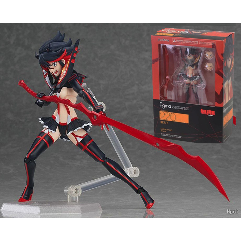 Figma 220 Kill La Kill Figure Ryuko Matoi Figure Ryuuko Action Figures  Model Toy Doll