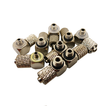 5PCS PL3-M5 PL6-M5 M6 PL4-M3 M4 M5 M6 twist joint Fast contort Pneumatic components Quick Fitting 3mm 4mm 6mm Tube M3 M4 M5 M6 image