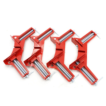 90 Degrees Right Angle Clamp Picture Frame Clamps DIY Glass Fast Fixing Clip adjustable jaws Woodworking Hand Tools