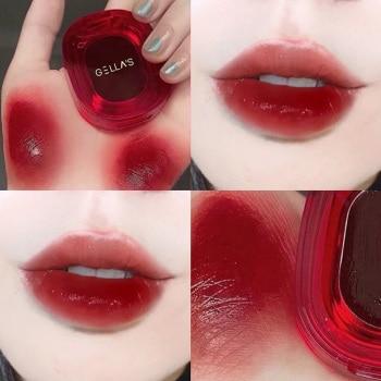 6 Colors Sexy Red Lipsticks Waterproof Moisturizing Lip Glaze Tint Long Lasting Non-Stick Cup Lip Stick Makeup Korean Cosmetics
