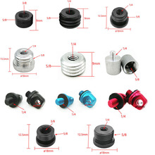 """3/8"""" to 5/8"""" Male to Female 1/4"""" to 5/8"""" Thread Screw Mount Adapter Tripod Plate Screw mount for Camera Flash Tripod Light Stand"""