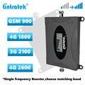 Lintratek Cellular signal booster 2G 3G 4G Singel frequenz repeater GSM 900 DCS LTE 1800 WCDMA 2100 LTE 2600 signal Verstärker