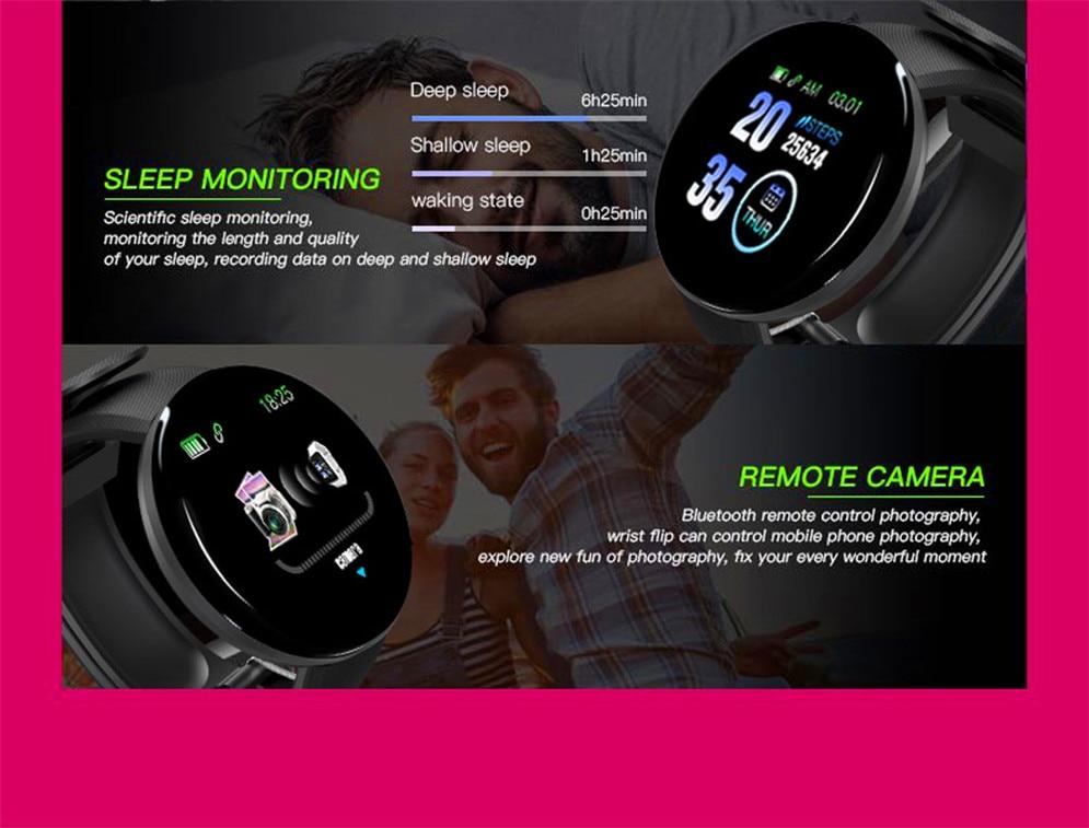 H4cc735c54d0c44b0a617a41672b313eb3 2020 Bluetooth Smart Watch Men Blood Pressure Round Smartwatch Women Watch Waterproof Sport Tracker WhatsApp For Android Ios
