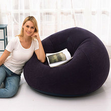 Large Lazy Inflatable Sofa Chairs PVC Lounger Seat Bean Bag Sofas Pouf Puff Couch Tatami Living Room