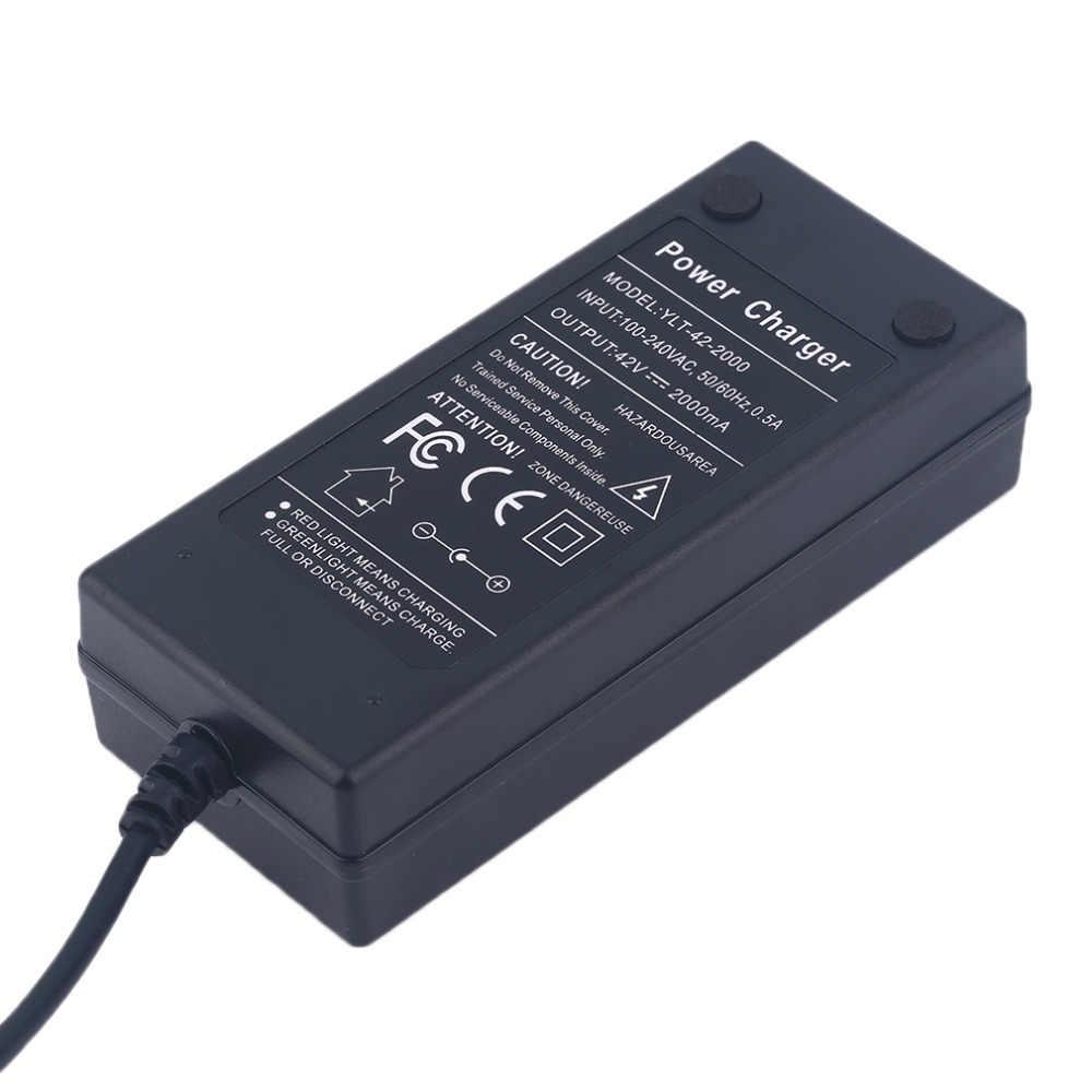 Mới 42V 2A Xe Điện Xe Tự Cân Bằng Tự Cân Bằng Xe Tay Ga Di Chuột Ban Sạc Pin Cắm EU Bán Buôn