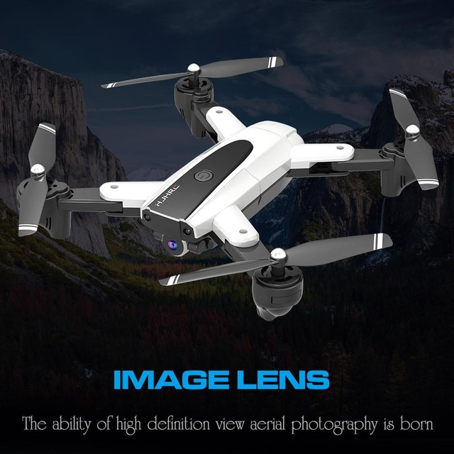 Quadcopter Foldable Selfie Drone And Camera Live Video GPS HJ18 1080P 4K Camera Optical Drone HD WIFI FPV Flying Drone Y2