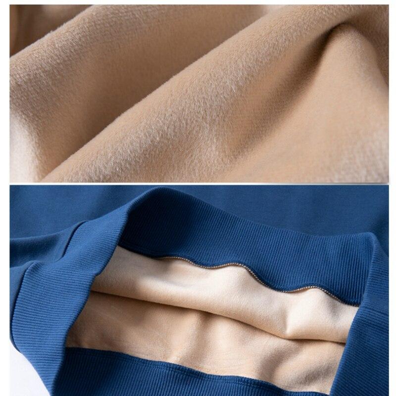 Image 4 - 2019 Winter Fleece Polo Shirt Men Plus Size 4XL 5XL 6XL Polo Men  Brand High Quality Fat Guy Clothes Thick Warm Cotton Polo ManPolo   -