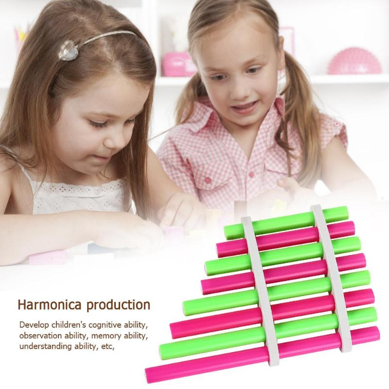 Skillful Manufacture Physical Inventions Experiment Kits Superior Quality School Project Assembled Pan Flute Toys