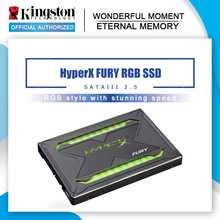 Solid-State-Drive Lighting Hard-Disk FURY Hyperx Sata-Iii Kingston Internal 240GB Rgb Ssd