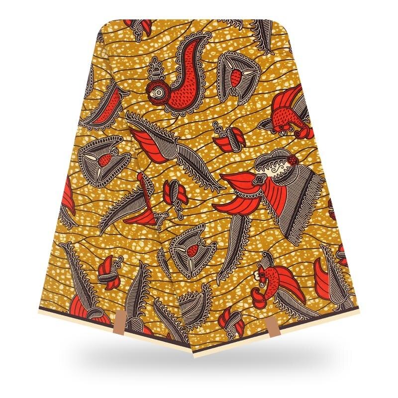 Nigeria Wax Print Cotton Material Ankara African Wax Prints Fabric Wax Guaranteed Veritable African Wax 100% Cotton Holland Wax