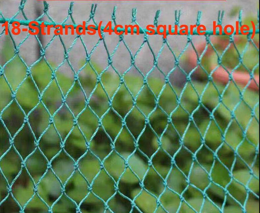 18-жильная сверхпрочная сетка для защиты от птиц, сетка для защиты от пятен, сетка для садового забора
