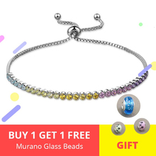 18cm Box Chain New Brand 100% 925 Sterling Silver Lace-up clip Bracelet With Color CZ Authentic Fashion Jewelry making for gifts hot pull back car toys car children racing car baby mini cars cartoon pull back bus truck kids toys for children boy gifts jm106