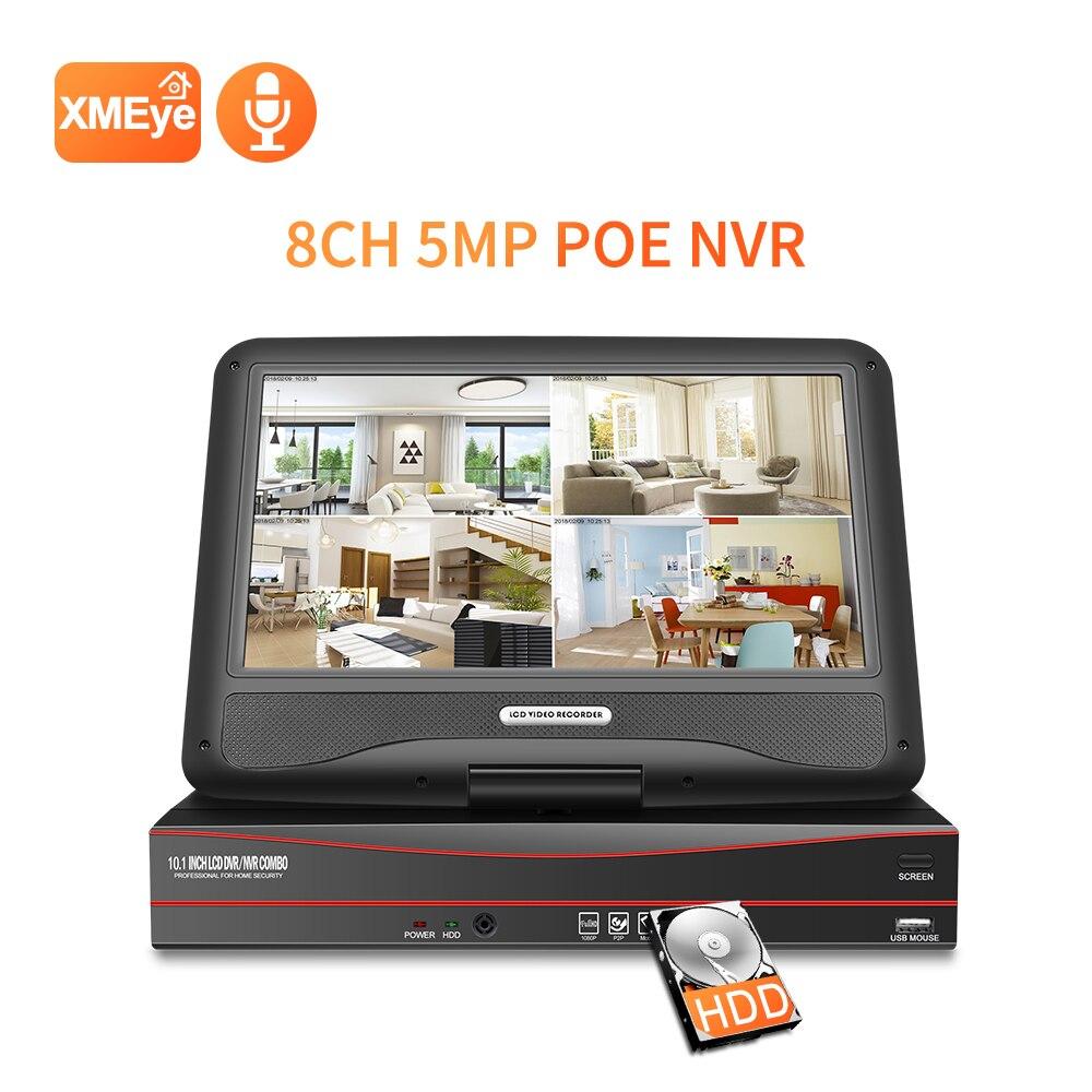 Techage 8CH 1080P 10.1