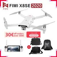 FIMI-Drones X8SE 2020 de 3 ejes, 4K, H.265, HDR, versión mejorada, 35 minutos de tiempo de vuelo, 8KM de Control remoto
