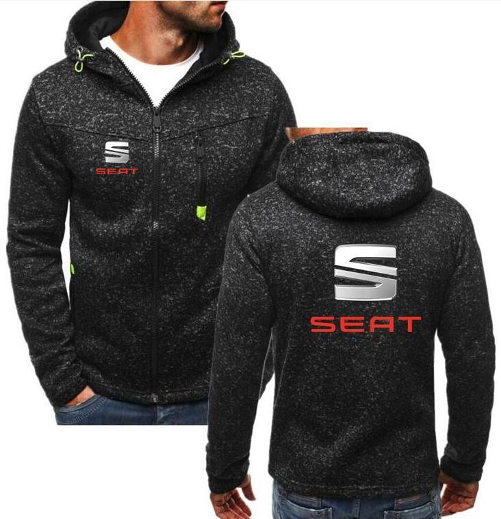 2019 marca de inverno vw assento hoodies masculino volkswagen logotipo homem com zíper casaco scania hoodies & camisolas alfa romeo com capuz vw jaqueta