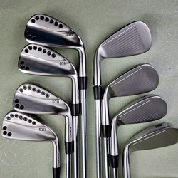 0311Golf clubs Irons silver Golf Forged Iron 3-9W R/S Steel Shaft With Head Cover Free shipping