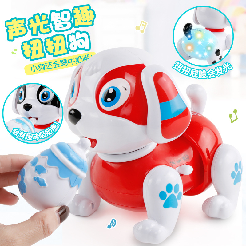 Children Electric Toys Puppy Can Sing Will Move Run Baby Aged 1-2 Years Educational 6-9-12 Month Dog Toy