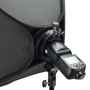 Image 5 - Godox S2 Speedlite Flash Halter Halterung + Softbox Honeycomb Grid mit Bowens Berg für Godox V1 TT685 V860II TT350 AD200 flash