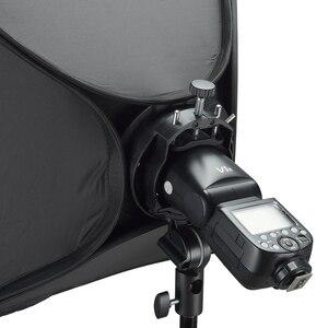 Image 5 - Godox S2 Speedlite Flash Holder Bracket + Softbox Honeycomb Grid with Bowens Mount for Godox V1 TT685 V860II TT350 AD200 Flash