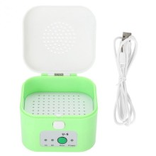 Electric Hearing Aid Dehumidifier USB Drying Box Moisture Proof Hearing Aids Dryer Case Protect Ear Care Health(China)