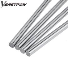 2pcs 6mm 8mm 10mm 12mm 16mm 8 400mm linear shaft 3d printer parts 8mm 400mm Cylinder Chrome Plated Liner Rods axis