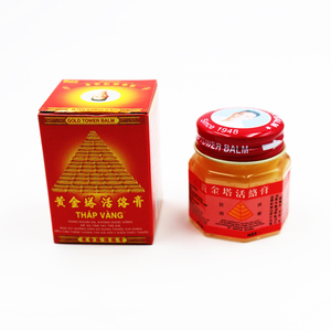 Image 2 - New 2019 Pain Cream Vietnam Gold Tower Balm 20g Relieving Itching Muscle Joints Rheumatism Detumescence Ointment Active Cream