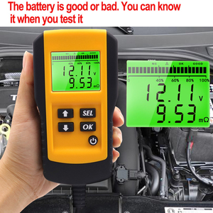 Image 4 - 10 Pcs Professional Digital 12V Car Battery Tester Load Test Analyzer for Voltage Resistance and Deep Cycle Battery Life
