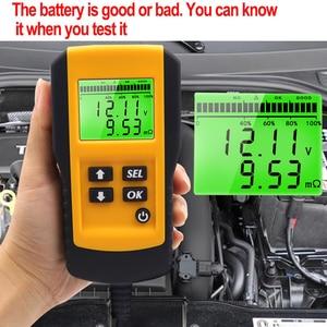 Image 4 - Probador Digital profesional de batería de coche, Analizador de prueba de carga para resistencia a voltaje y batería de ciclo profundo, 12V, 10 Uds.