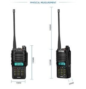 Image 5 - 2pcs high Power 10w Baofeng UV 9R plus Waterproof walkie talkie two way radio ham radio cb radio comunicador рация