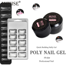 MIZHSE UV Gel Poly Nail Gel Kit UV LED Painting Lacquer Acrylic Gel For Nail Extension Crystal UV Resin Builder Gellak