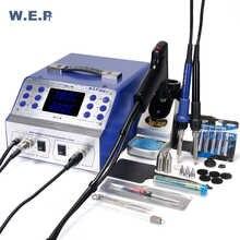 WEP 948D-II  High Frequency Rework Station Tin Gun Sodering Iron 3 in 1  Intelligent Desoldering Soldering  Station