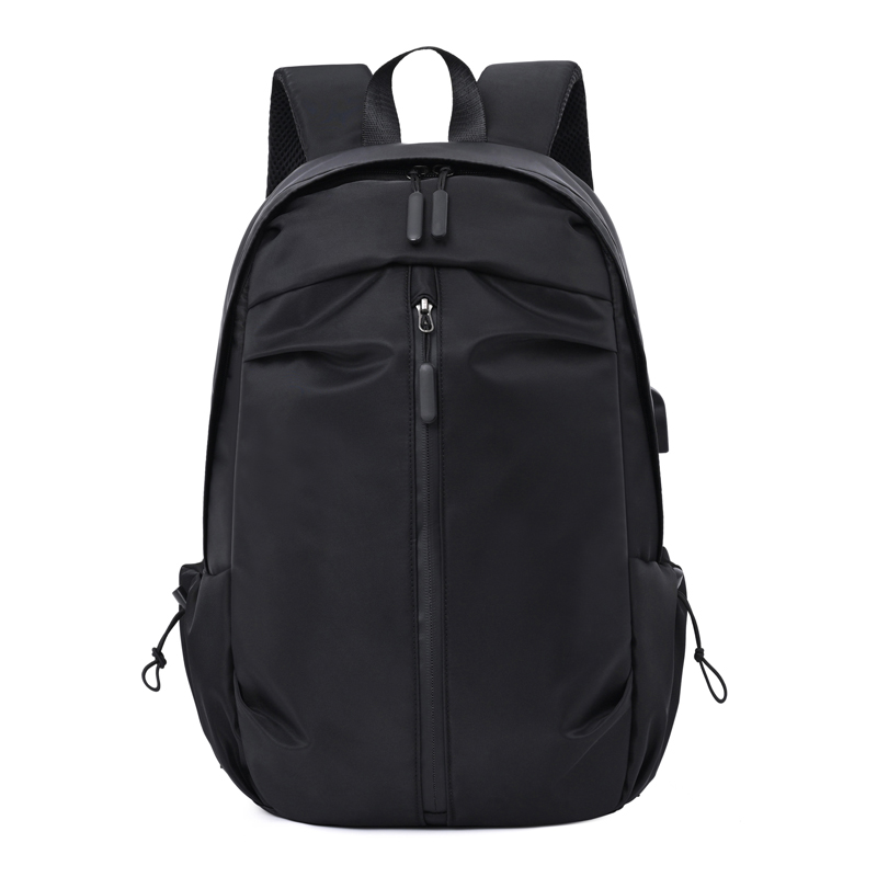 Laptop Backpack USB External Charge 15.6 Inch Shoulder Men Anti-Theft Nylon Travel Backpack