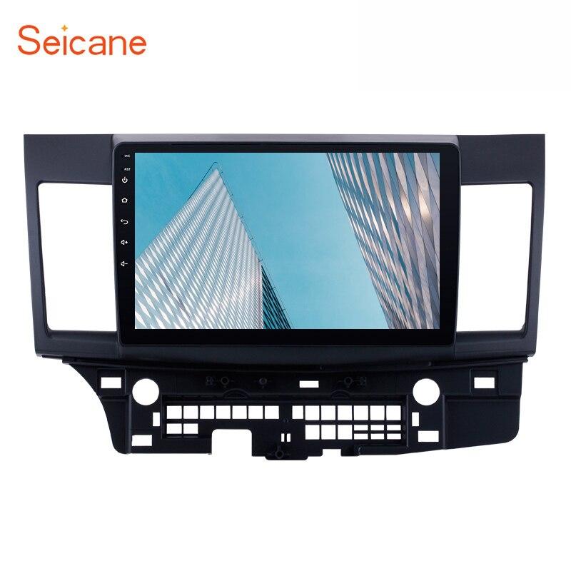 Seicane 2 Din Android 8,1 GPS Auto Radio Stereo-Multimedia-Player Für 2008 2009 2010 2011 212 2013 2014 2015 mitsubishi Lancer-ex