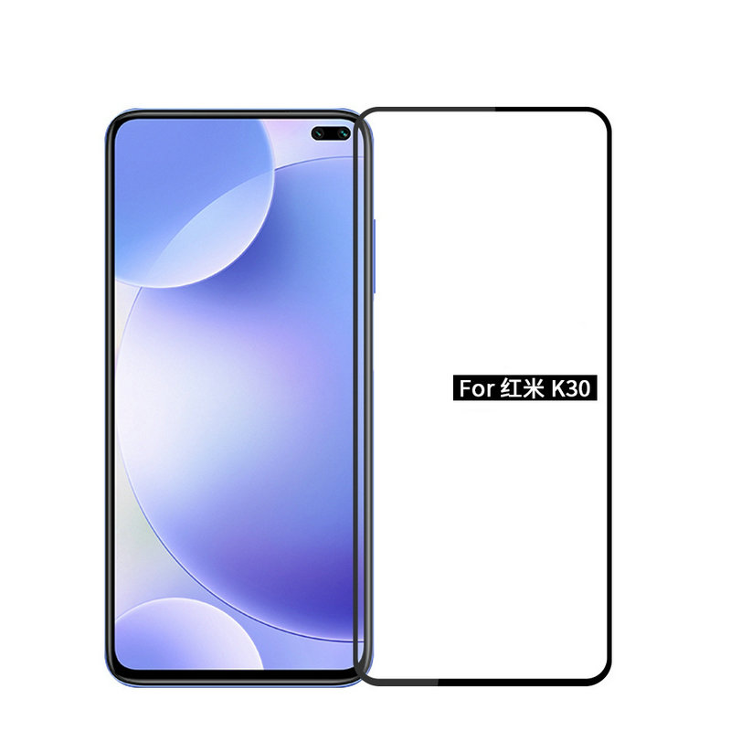 For <font><b>Xiaomi</b></font> <font><b>Redmi</b></font> <font><b>K30</b></font> 5G Full Glue Cover Tempered Glass Screen Protector for <font><b>Xiaomi</b></font> Mi 9T Pro 6GB 64GB 8GB 128GB <font><b>256GB</b></font> Glass film image