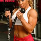 Triceps Gym Cable Pu...