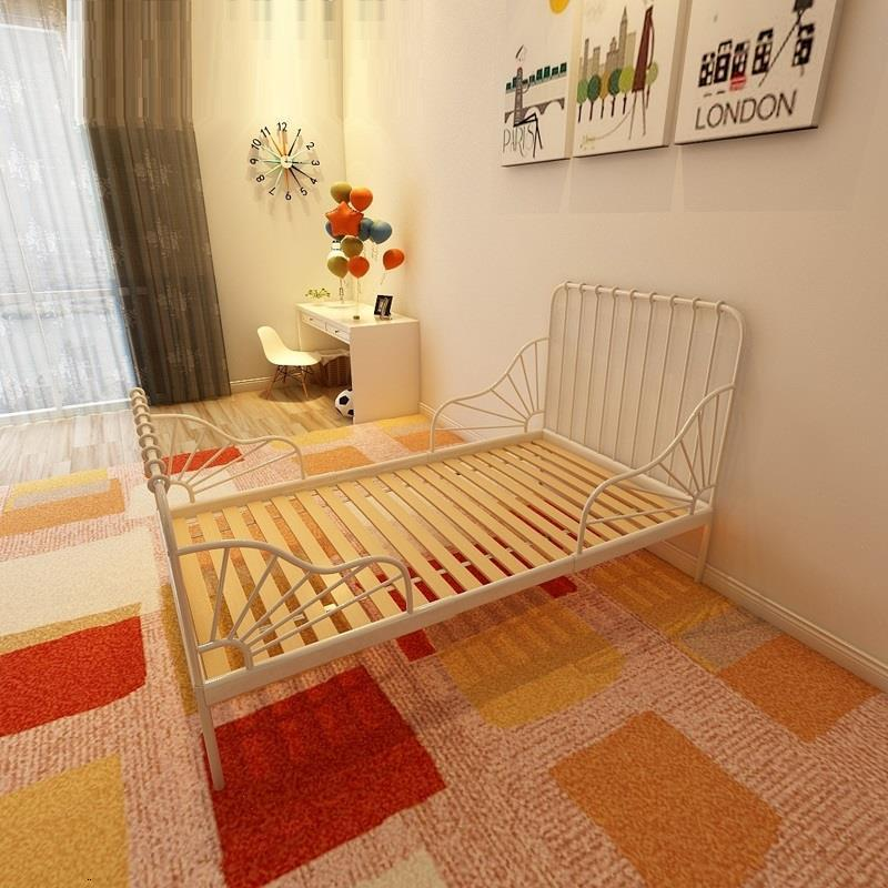 Child Lozeczko Dzieciece For Bedroom Recamara Infantil Toddler Adjustable Children Kinderbett Lit Enfant Kid Baby Furniture Bed