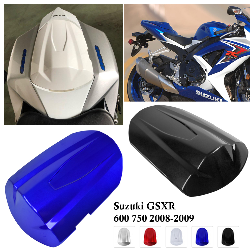 For <font><b>Suzuki</b></font> <font><b>GSXR</b></font> <font><b>600</b></font> 750 GS-XR <font><b>600</b></font> GS-XR 750 <font><b>2008</b></font> 2009 Rear Passenger Pillion Seat Cover Protective Cowl GSXR600 GSXR750 Fairing image