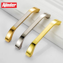 Luxury Style Bedroom Furniture Closet Drawer Handle Aluminum Alloy Modern Cabinet Shoe Rack Pull Wine Cabinet Knobs(China)