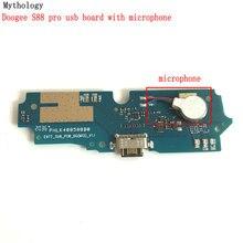"""Mitología para Doogee S88 Pro, placa USB y base de micrófono para Cable flexible, Conector de 6,3 """", circuitos de cargador de teléfono móvil"""