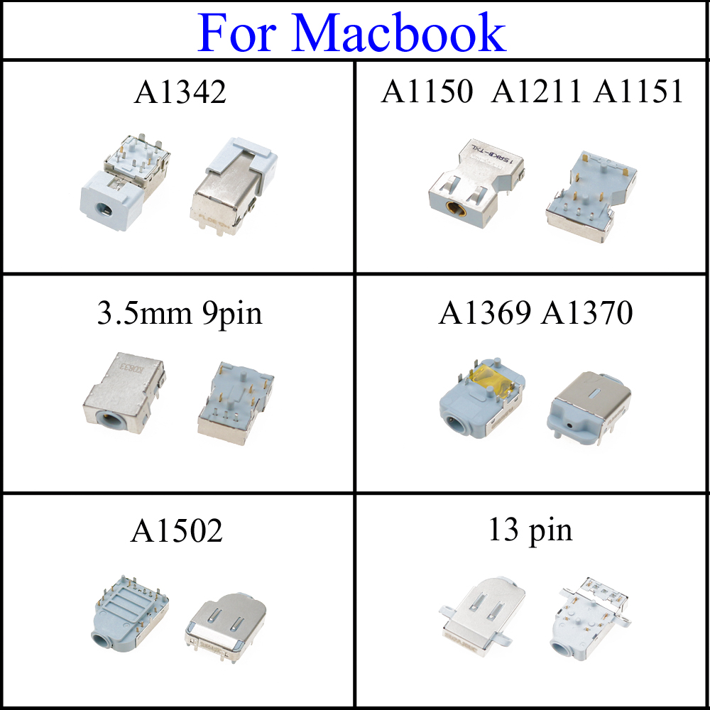 Macbook Pro A1502 2015 Replacement Audio Port Headphone Jack